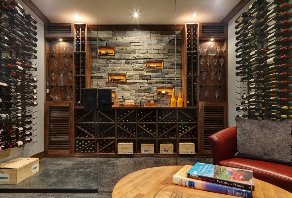 Build A Wine Cellar W The Experts At Blue Grouse Wine Cellars