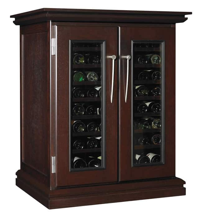 cavavin majestika wine cabinets blue grouse wine cellar. Black Bedroom Furniture Sets. Home Design Ideas