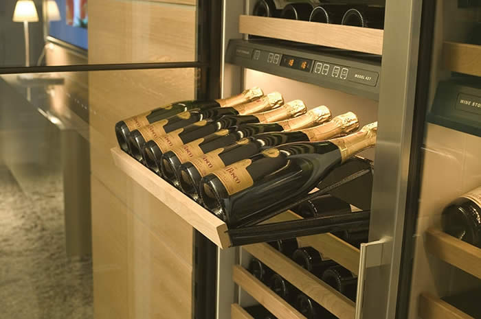 Sub Zero Wine Cooler 27 Quot Integrated Model Blue Grouse