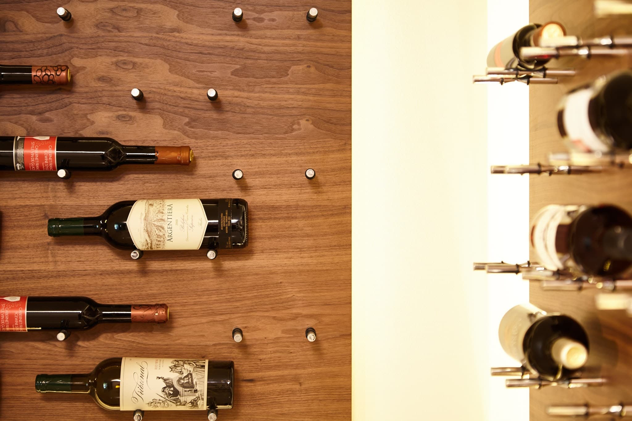 Wall Panel Mounted Wine Racking Pegs Cradles Amp More