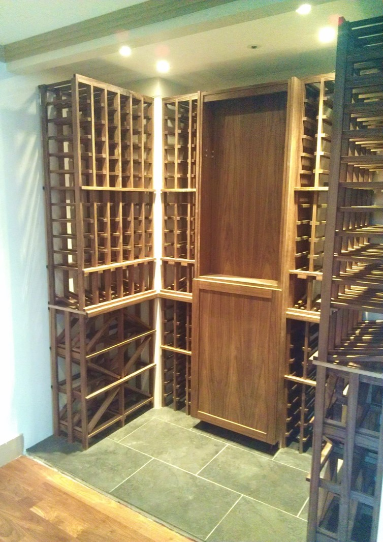 vancouver residential custom wine cellar renovation project. Black Bedroom Furniture Sets. Home Design Ideas