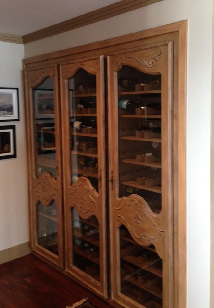 A Home Wine Cellar Renovation Project For Growing Collection