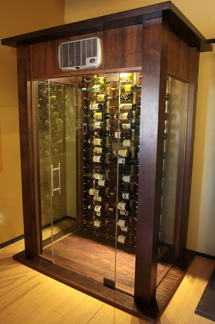 The Stellar Glass Wine Cellar