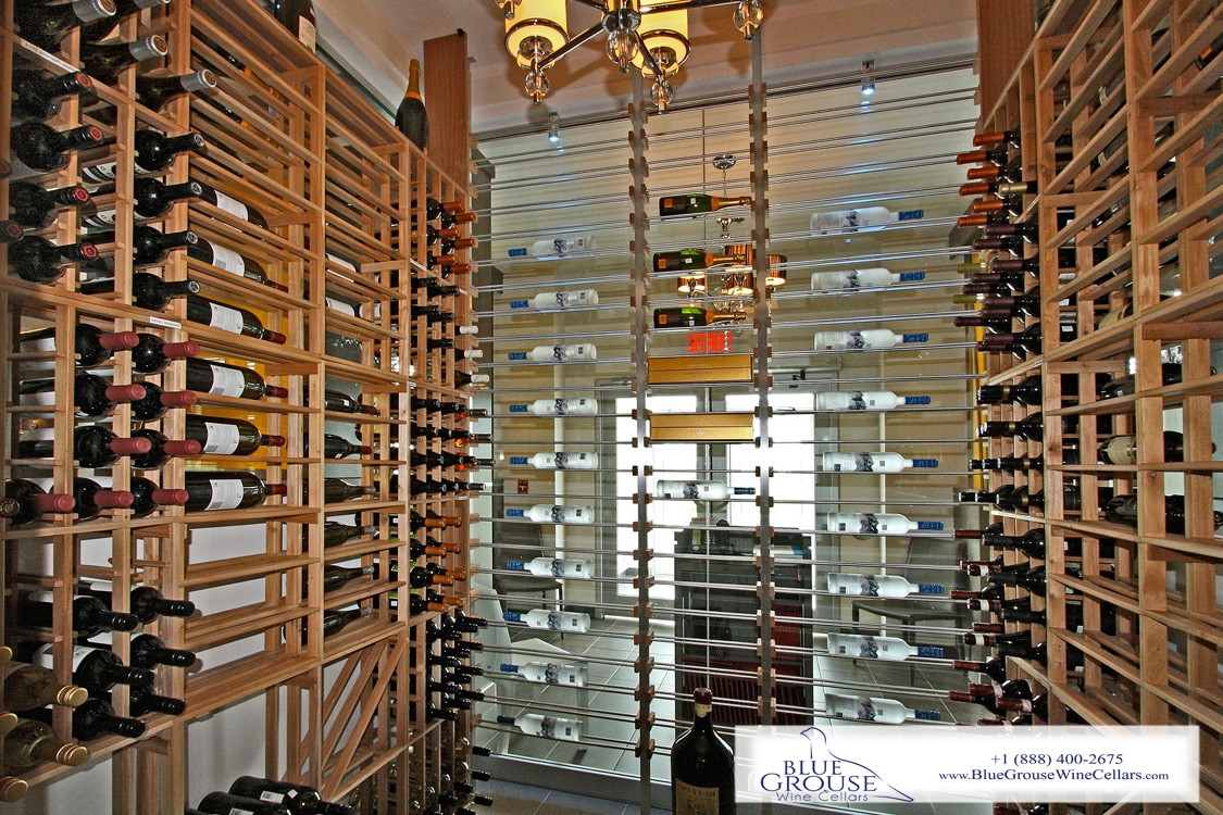 Millesime Stunning Ultra Contemporary Wine Racking