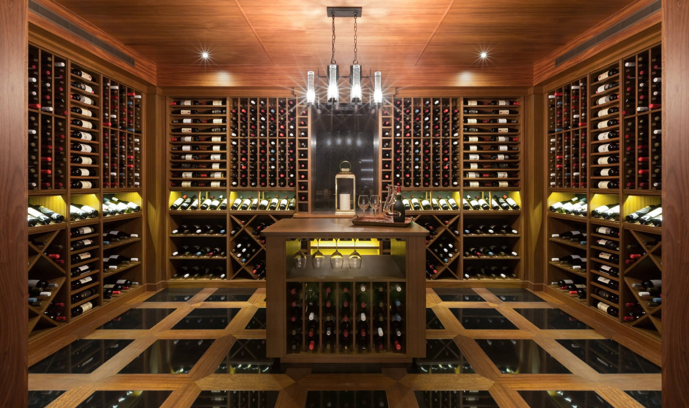 Blue grouse wine cellars photo gallery portfolio blue for Residential pictures