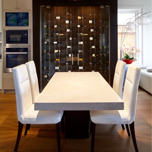 Cable Wine Racks Add the Magic to Vancouver Home