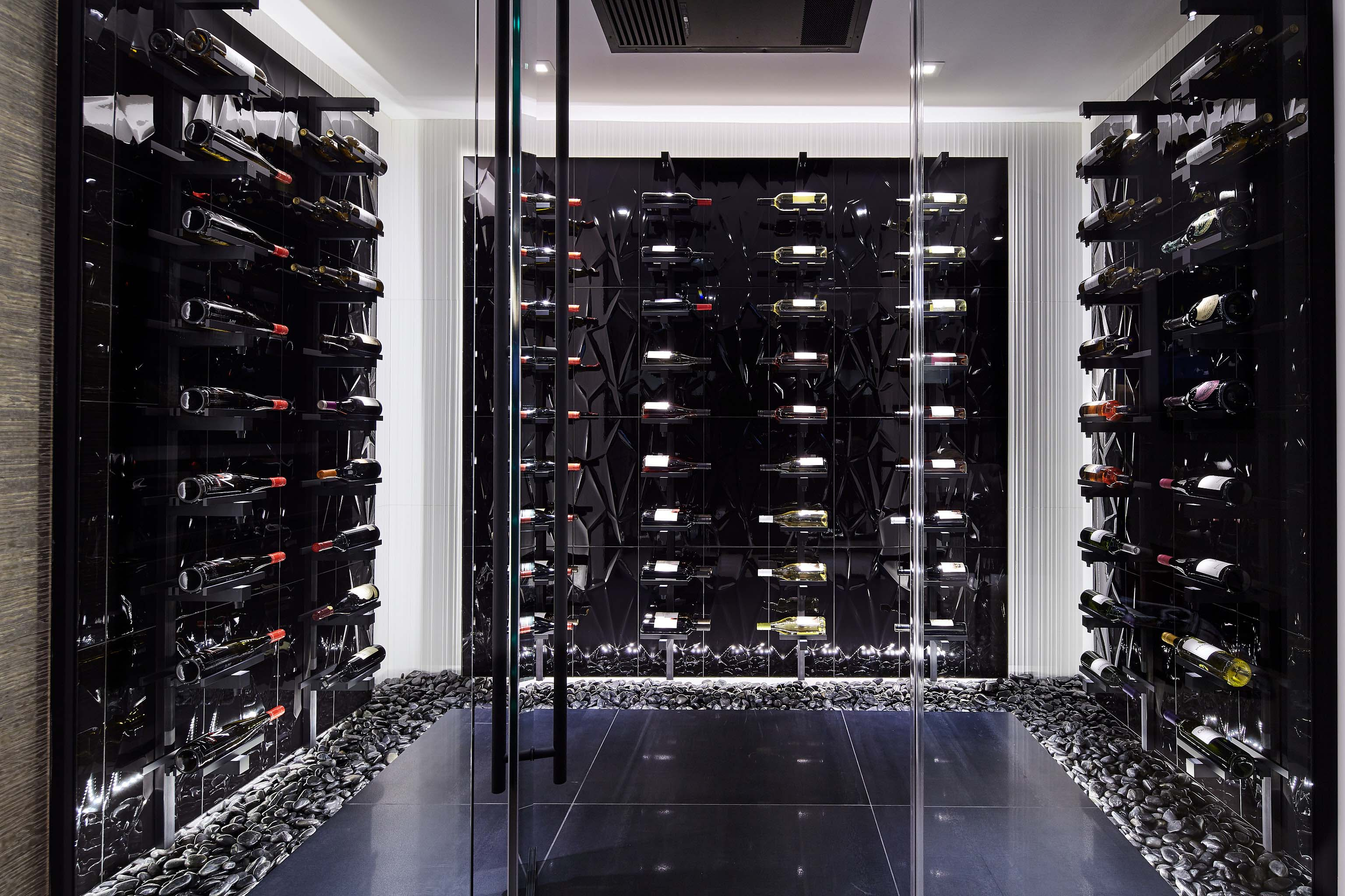MP Lighting Wine Cellar in Vancouver