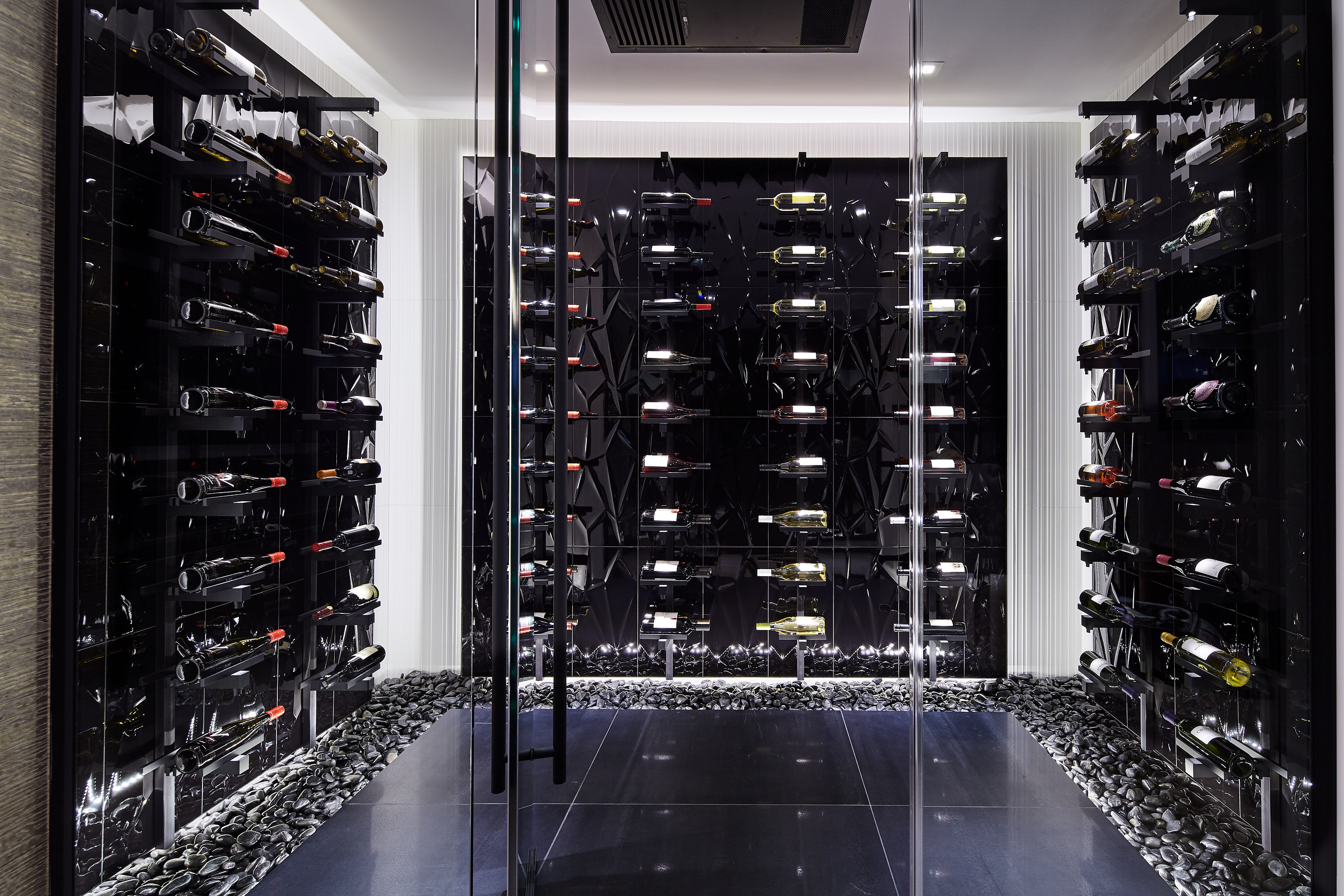 The Real Deal Basement Wine Cellar S Lighting Stuns In Vancouver
